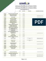 Seminarios para Bachillerato en Diseño Grafico