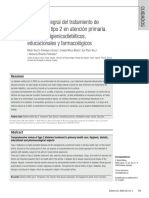 Revisión Integral Del Tratamiento de Diabetes Tipo 2