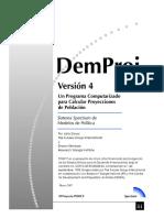 Manual de Proyeccion Poblacional