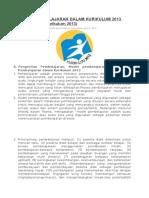 Model Pembelajaran Dalam Kurikulum 2013
