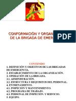 Constitución de Brigadas de Emergencias