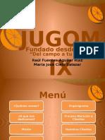 Jugo Mix PowerPoint