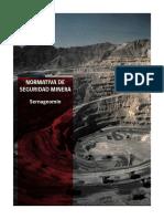 Normativa de Seguridad Minera