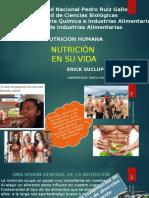 Nutricion en Su Vida