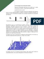 Espectroscopia de Correlación