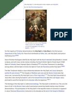 Holy Spirit in Christianity - Wikipedia (1)