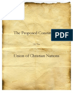 The Proposed Constitution