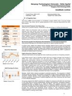 NTU - Delta Capital - AsiaMedic Limited