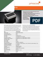 Phocos Datasheet MPPT-100 40 e Web