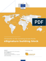 Building Block DSI_IntroDocument (ESignature) (v1.1)
