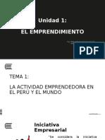 Unidad 1 - Emprendimiento