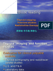 Thyroid Imaging and Function Studies