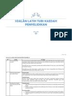 soalanlatihtubikaedahpenyelidikan-160101141207
