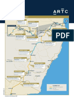 Inland Rail Alignment Map (February 2017)