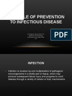 Control of Infections 2013