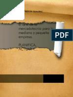 eBook en PDF El Arte de La Mercadotecnia Para La Mediana y Pequena Empresa
