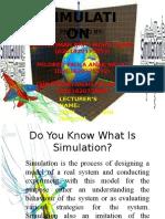 Sbi Simulation Presentation