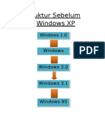 Struktur Sebelum Windows XP Kelompok 7