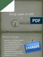 Drug Laws in UAE