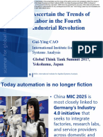 Ascertain the Trends of Labor in the Fourth Industrial Revolution