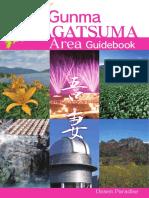 Guidebook Visit GUNMA - Agatsuma