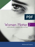 Women Matter 2 Brochure