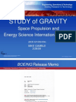 Mike Gamble Boeing Gravity Research Paper