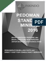 Buku Billing Rate INKINDO 2016