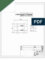 Typical U-Channel Profile