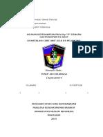 Bagian Keperawatan Gawat Darura1
