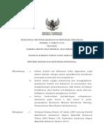 PMK No. 6 Ttg Formularium Obat Herbal Asli Indonesia