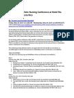 Holistic Nursing Conferences USA| Medicine Conferences, Nursing Lectures| ATECAM