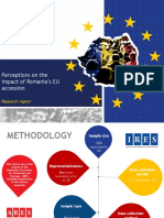 IRES_Perceptions on Romania's EU Accession