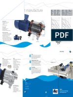 DPHM Horizontal Pump Brochure DP-Pumps
