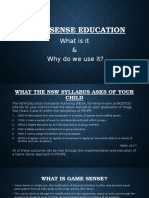 game sense education