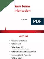 Company Intro 4-11-2016 Orientation