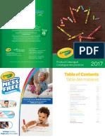 2017 Crayola ProductCatalogue