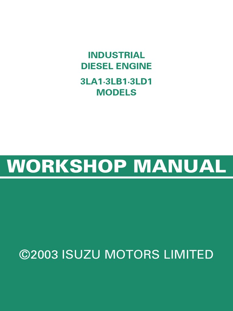 3ld1 Isuzu Wiring Diagram - Information Of Wiring Diagram •