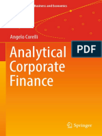 (Springer Texts in Business and Economics) Angelo Corelli (auth.)-Analytical Corporate Finance-Springer International Publishing (2016).pdf
