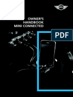 Mini Connected Owners Handbook