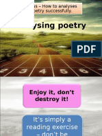 Analysing Poetry (NC)
