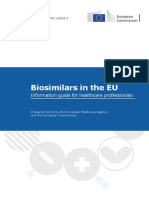 EMA Biosimilar Guide for Healthcare Professionals