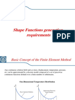 Shape Function Generatio