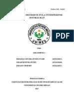Kel.3-Fisdikb15- Intensitas Distribusi Pola Interferensi Double Slit
