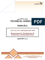 Regulation of Demolation and Construction Guideline