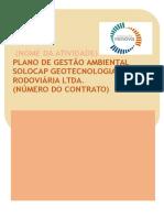 Programa de Gestão Ambiental