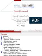 Electronics II Lecture Note