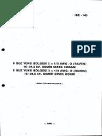 15-34 KV Demir Direk Hesabı