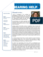 Cambridgeshire Hearing Help Newsletter May 2017