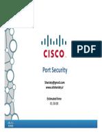 CCNA 07 Port Security